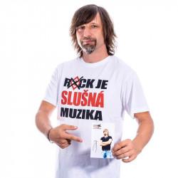 Slušný pánský rockový triko...
